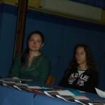 1 Anca et Vanessa pendant la conference de presse, Ecole Saint Sepulcre, 27 juin 2007, vercredi
